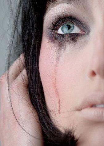 smear makeup