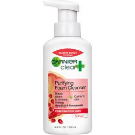 Garnier Skin Care Clean+ Purifying Foam Cleanser