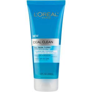 L'Oréal Paris Ideal Clean All Skin Types Foaming Gel Cleanser