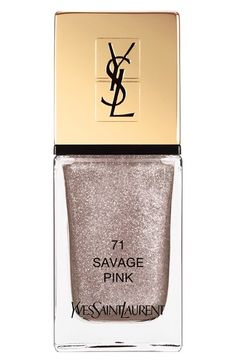 YSL polish Savage Pink
